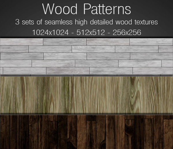 High Resolution Wood Patterns