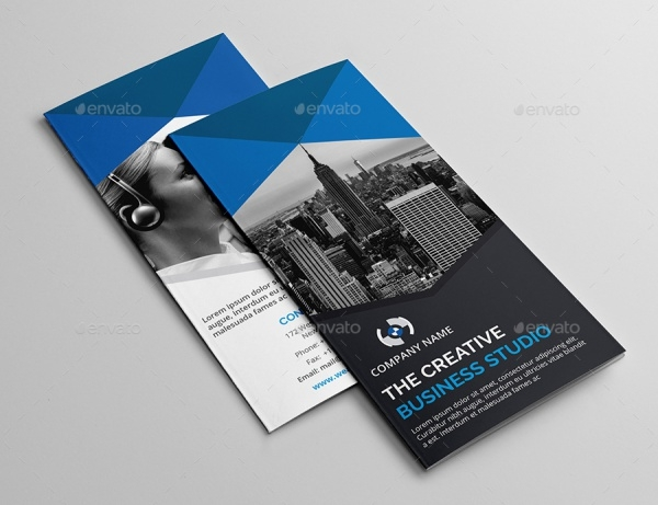 Highly Customizable Folded Brochure