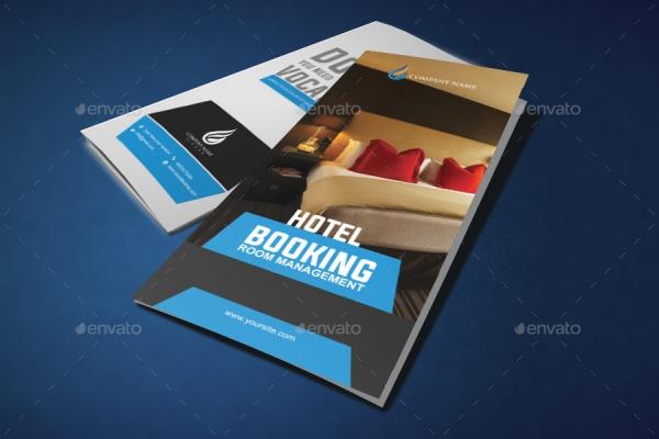 Hotel Tri Fold Brochure Design