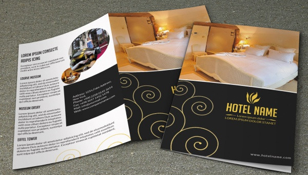 19 Hotel Brochure Design Freecreatives