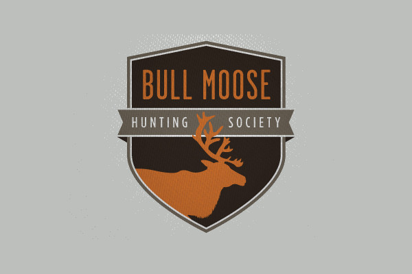 Hunting Patch Shield Logo