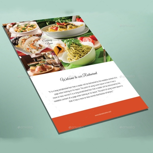 InDesign Catering Modern Brochure