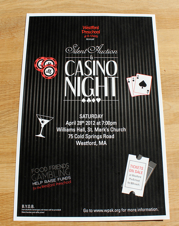 Indesign Casino Night Flyer