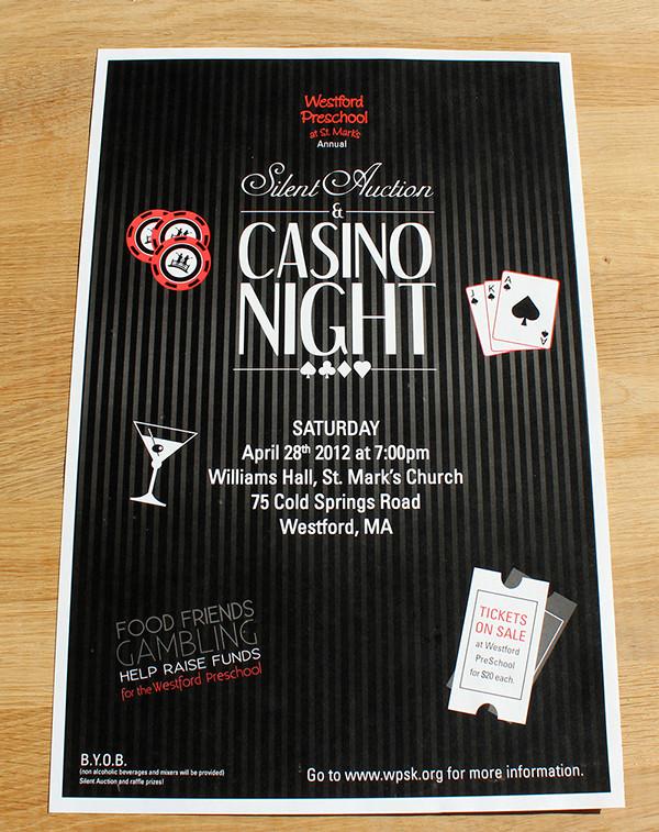 casino flyer template free
