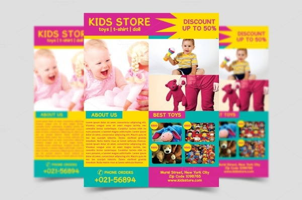 Kids Store Grand Opening Flyer