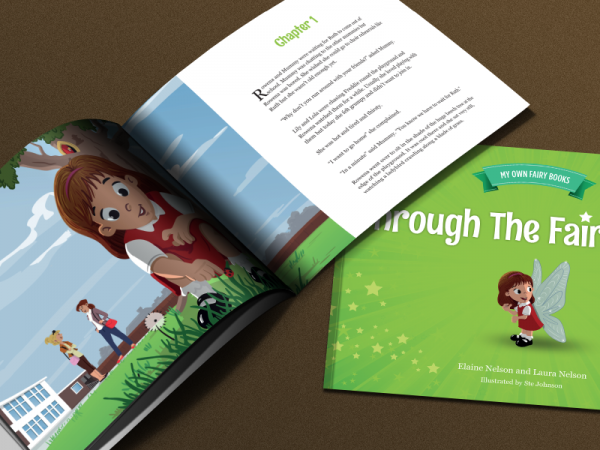 Kindergarten Book Design Brochure