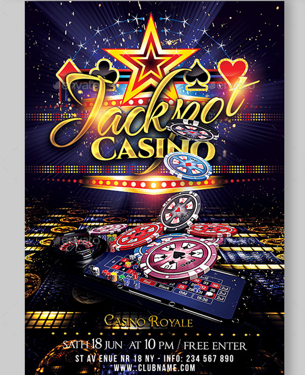 Las Vegas Casino Flyer Bundle