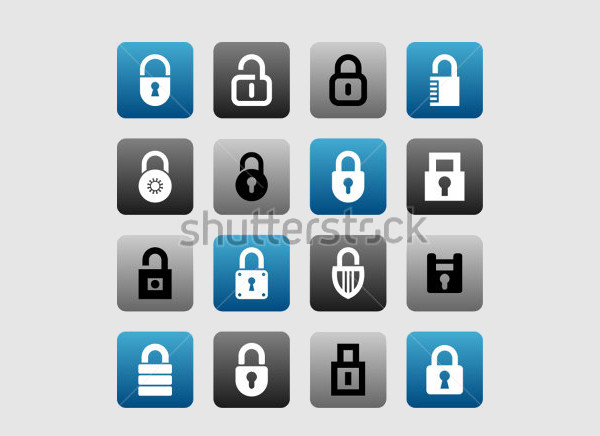 Lock and Security Icons