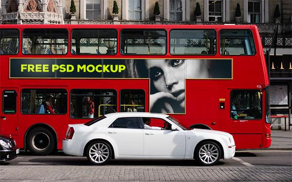 London Bus PSD Mock-up
