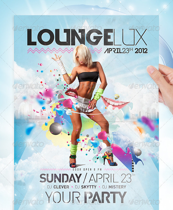 Lounge Party Flyer Template