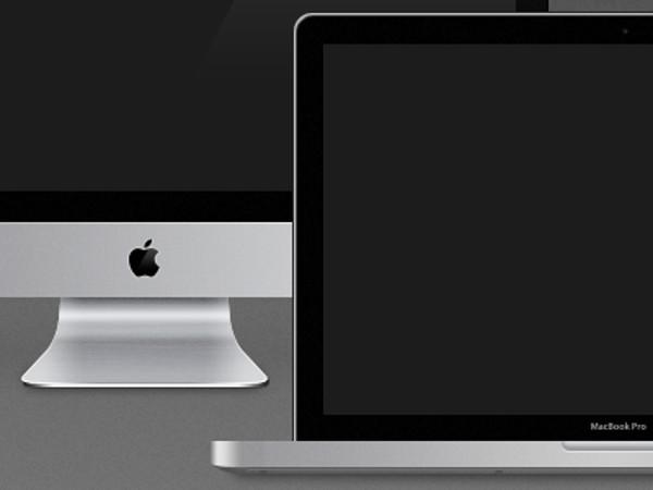 MBP & iMac Freebies Mockup