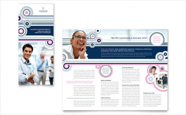 Marketing Agency Tri Fold Brochure