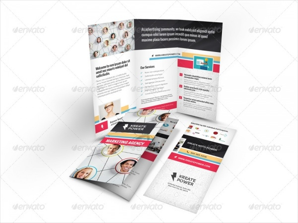 Marketing and Advertising Trifold Brochure