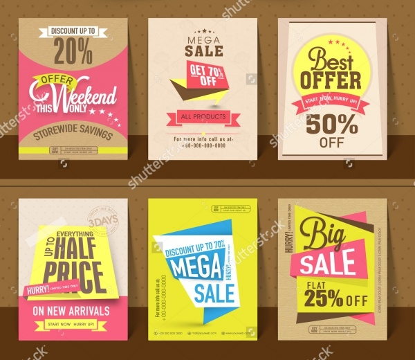 Mega Sale Advertisement Flyer