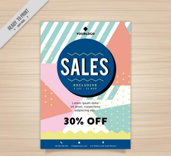 Memphis Fashion Sale Brochure