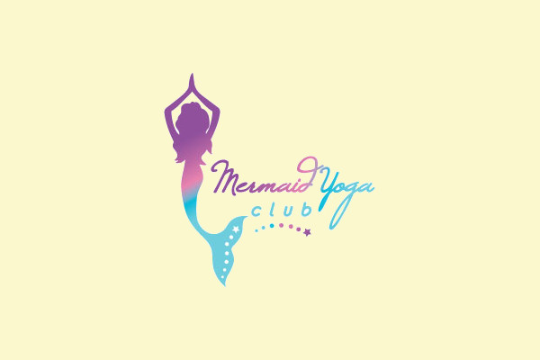 Mermaid Yoga Club Logo