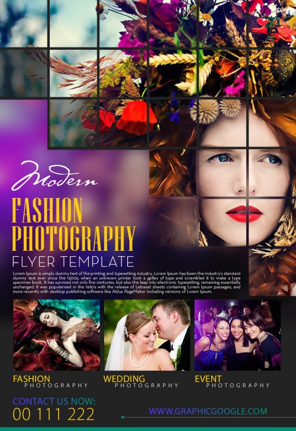Modern Fashion Photography Flyer