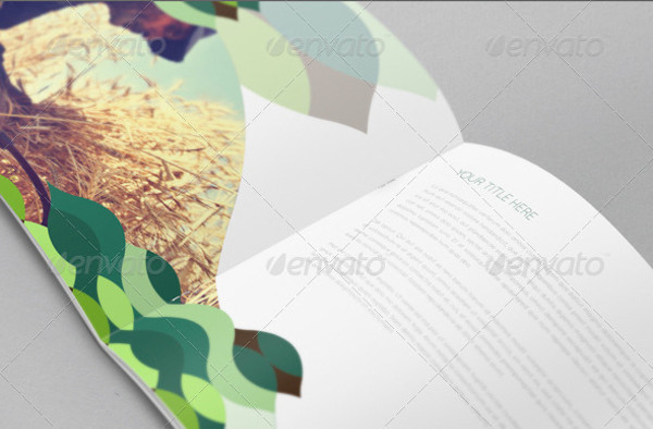 Modern Green Nature Brochure