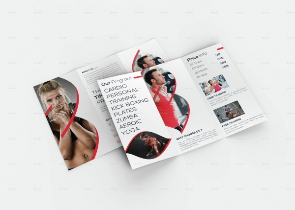 Modern Gym-Fitness Brochure