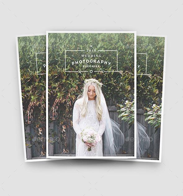 Modern Wedding Photography Brochure