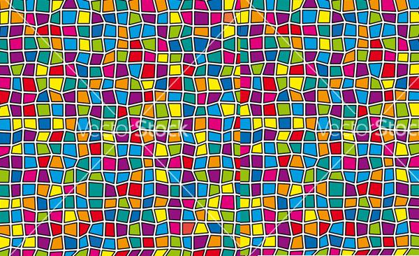 Multicolored Glass Pattern Vector