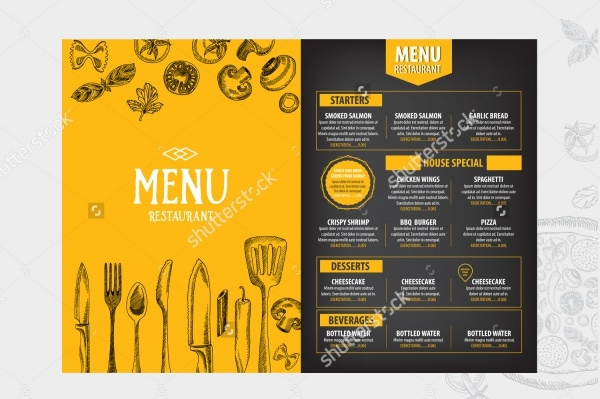 Multipurpose Catering Brochure Design