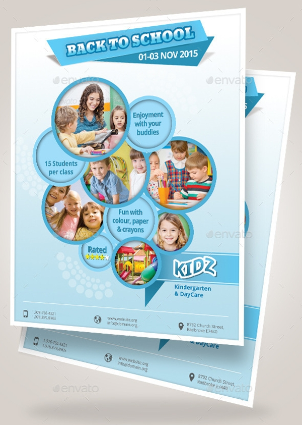Multipurpose Daycare Flyer Design