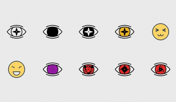 Naruto Eye Anime icons