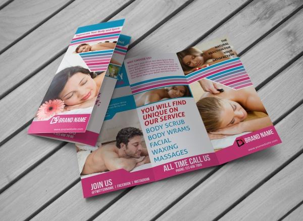 Nature Spa Salon Brochure