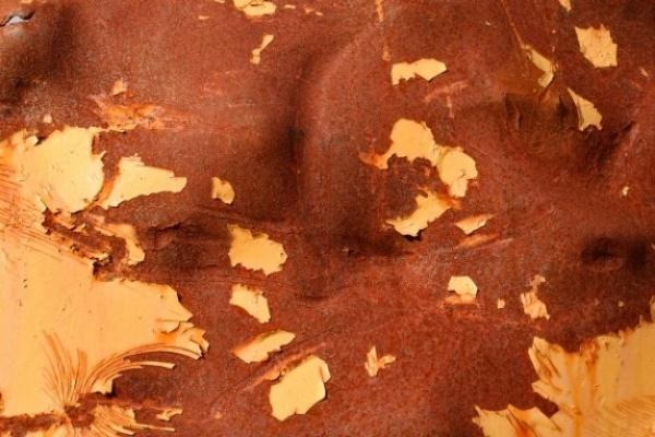 Orange rusty grunge Texture