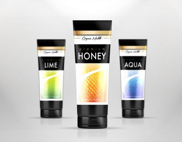 Organic Health Shampoo Mockup