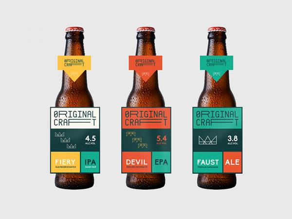 Original Craft Beer Layout Mock-up