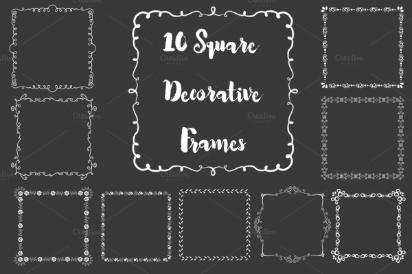 Ornament Square Vector Design