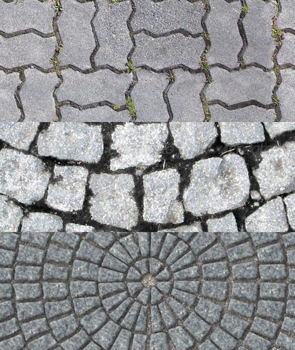 Outdoor Tiling herringbone Textures