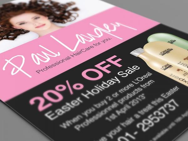 Paul Langley Salon Brochure