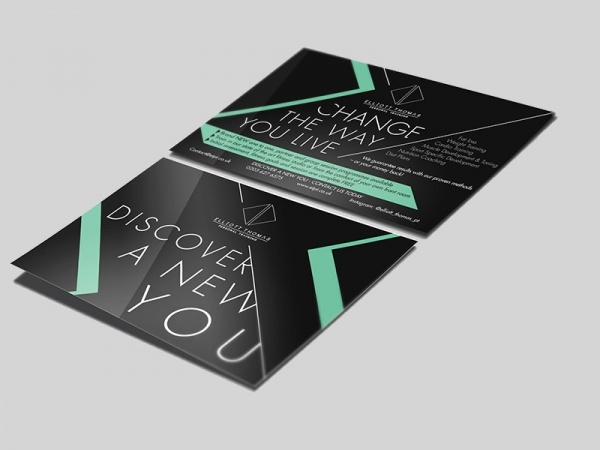 Personal Trainer Promo Brochure