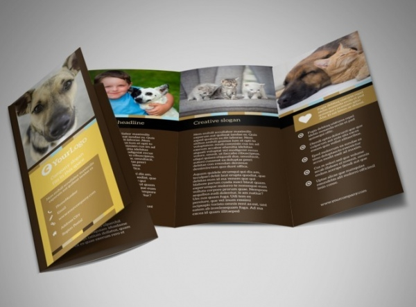 21  pet brochure templates