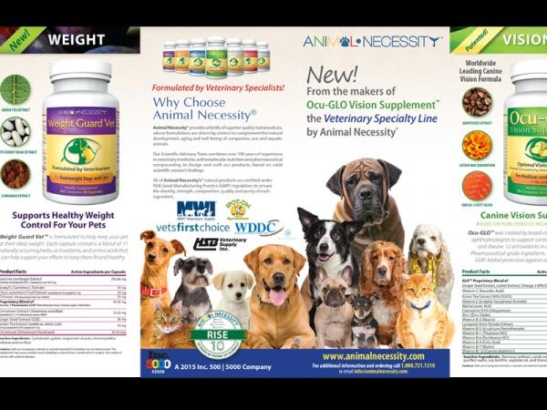 Pet Animal Supplement Brochure