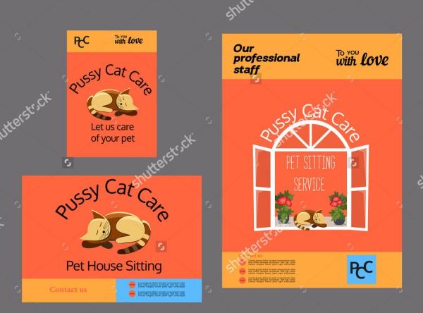Pet Care Brochure Design