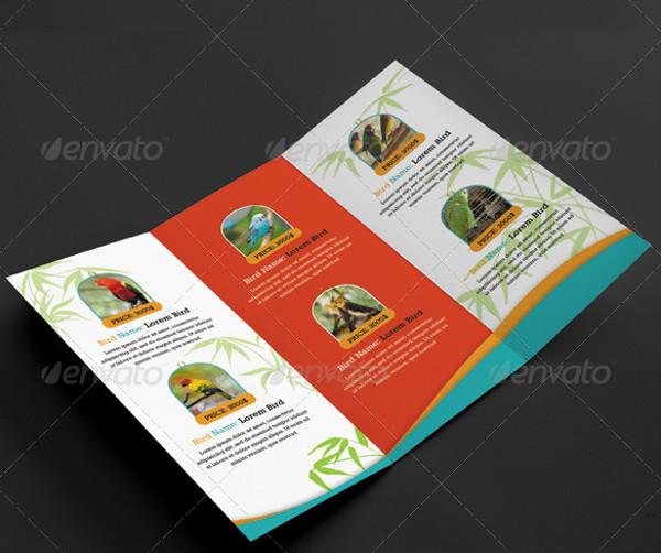 Pet Shop Tri-fold Brochure