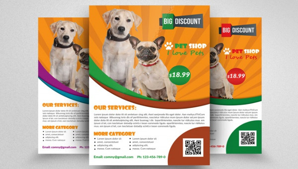 21 Pet Brochure Templates Psd Vector Eps Jpg Download