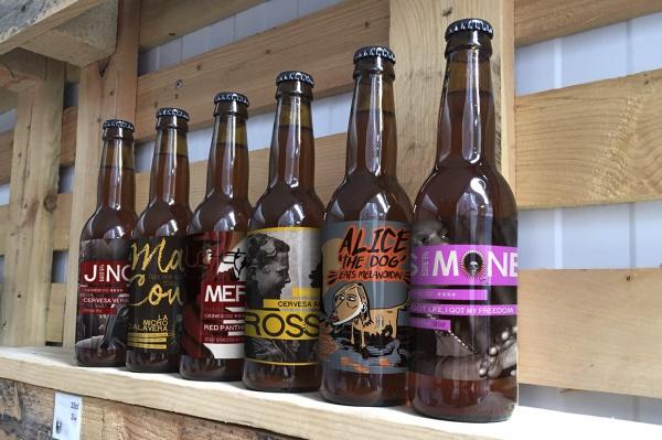 Photorealistic Beer Bottle Mock-up