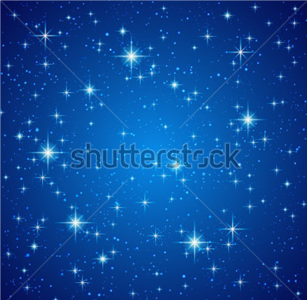 Photorealistic Sky With stars Texture