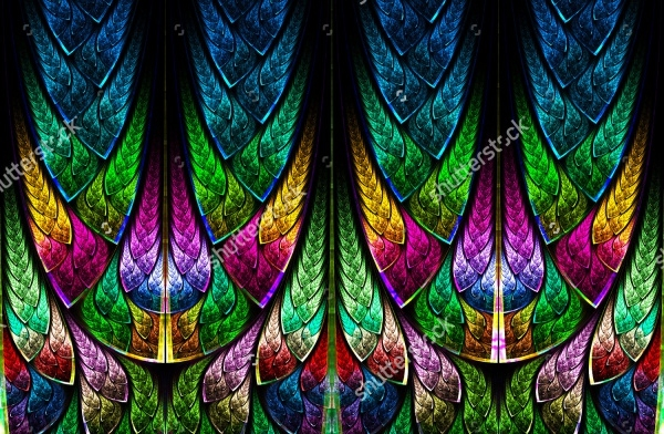 Photoshop Glass Design Pattern