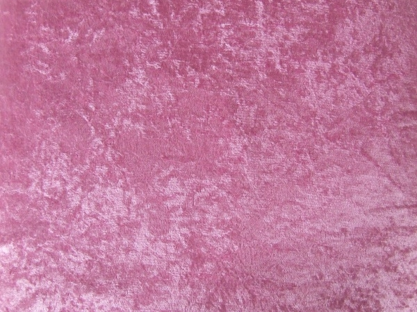 Pink Crushed Velvet Texture