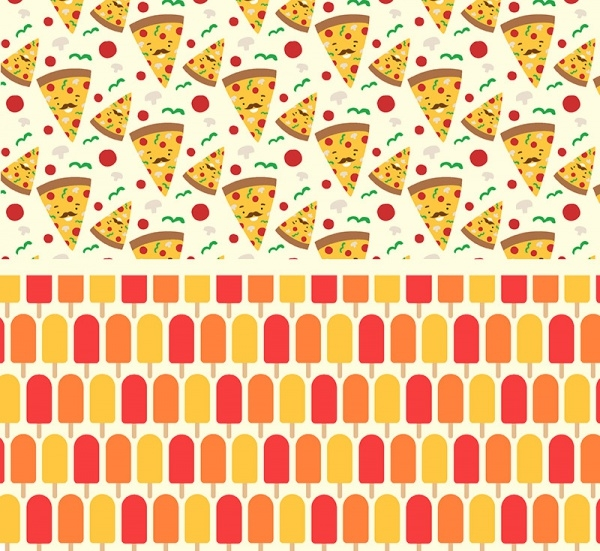 Pizza Foodie Dudes Patterns
