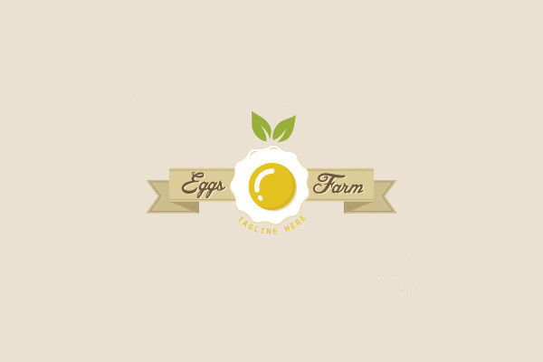 Poult Eggs Farm Logo Design