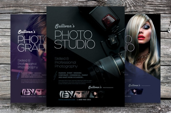 Photography Flyer Templates  Psd Vector Eps Jpg Download