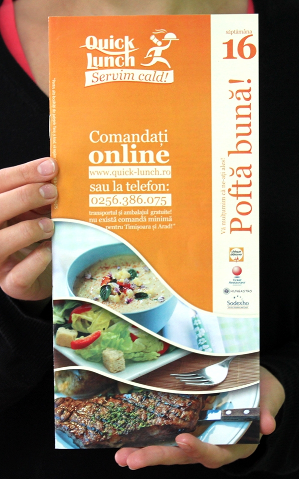 Quick Lunch Catering Brochure
