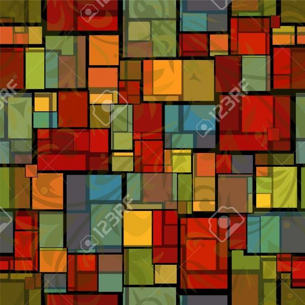 Random Glass Imitation Pattern
